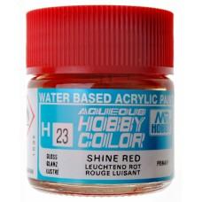"Акриловая краска ""Aqueous Hobby Color"" блестящая красная, 10 мл"