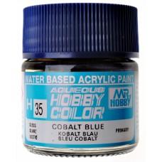 """Акриловая краска """"Aqueous Hobby Color"""" кобальтовая синяя, 10 мл"""