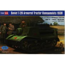 Советский военный трактор Т-20 Комсомолец 1938 г.