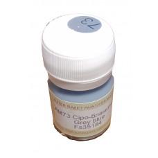 Акриловая краска ХоМа серо-голубая