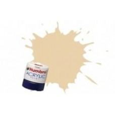 Краска водорастворимая HUMBROL кремовая (полу матовая)