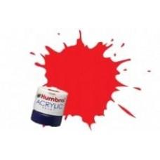 Краска водорастворимая HUMBROL красный (буферный) матовый жд