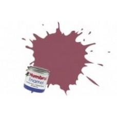 Краска эмалевая HUMBROL винная матовая