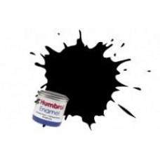 Краска эмалевая HUMBROL угольная сатин
