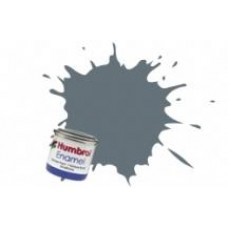 Краска эмалевая HUMBROL средне-серая матовая