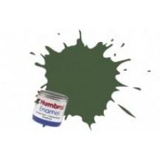 Краска эмалевая HUMBROL хаки темная матовая