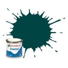 Алкидная эмалевая краска Humbrol, британский гоночный зеленый (глянцевая)