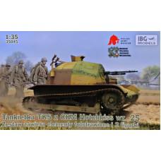TKS Польский легкий разведывательный танк