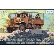 Автомобиль Chevrolet C15A No.13 Cab Personnel Lorry