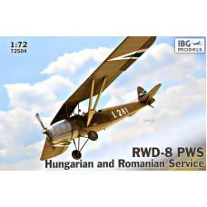 Учебно-тренировочный самолет RWD-8 PWS (венгерская и румынская служба)