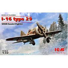 Истребитель Поликарпов И-16 тип 29