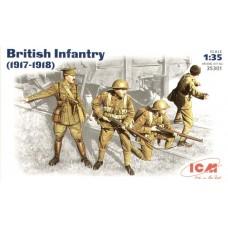Британская пехота (1917-1918)