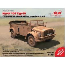 Германский автомобиль Horch 108 Typ 40