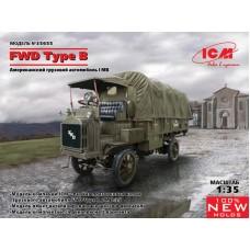 Американский грузовой автомобиль FWD Type B, Первая мировая война