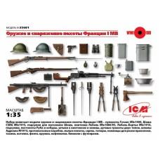 Оружие и снаряжение пехоты Франции І МВ