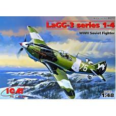 Истребитель ЛаГГ-3 серия 1-4