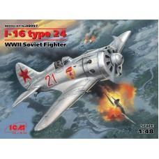 Истребитель Поликарпов И-16 тип 24
