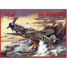 Немецкий истребитель Messerchmitt Bf 109F-4/B