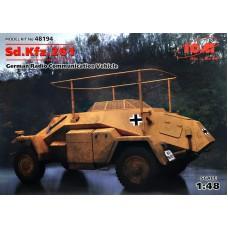 Немецкий бронеавтомобиль радиосвязи Sd.Kfz.261, 2 МВ