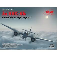 """Немецкий военный истребитель Второй мировой войны """"Ju 88С-6b"""""""