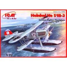 Германский истребитель-гидроплан Heinkel He-51 B2