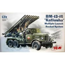 """Советская боевая машина БМ-13-16 """"Катюша"""""""