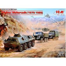 Автоколонна в Афганистане (1979-1989 года) - УРАЛ-375Д, УРАЛ-375А, АТЗ-5-375, БТР-60ПБ