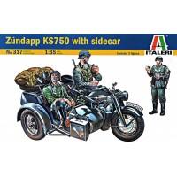 Мотоцикл Zundapp KS750 с коляской