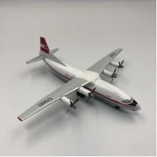 Военно-транспортный самолет Ан-12 Аэрофлот СССР, красная ливрея