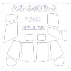 """Маска для вертолета AS 350 B3 """"Everest"""" (Heller)"""