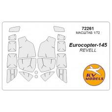 Маска для модели вертолета Eurocopter EC-145 (Revell)