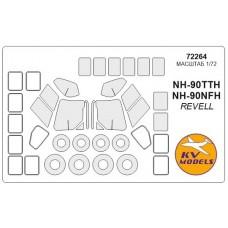 Маска для вертолета NH-90TTH / NH-90NFH (Revell)