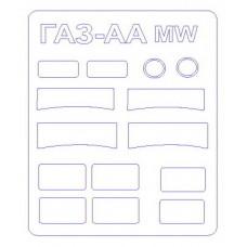Маска для модели автомобиля ГаЗ-AA (Military Wheels)