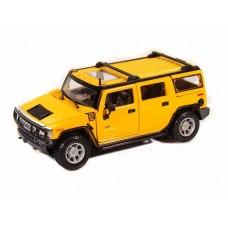 Автомодель 2003 Hummer H2 SUV (жёлтый)