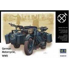 Мотоцикл Вермахта, Вторая мировая война