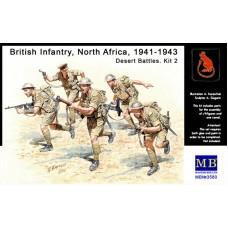 Британская пехота, Северная Африка, 1941-1943, набор 2