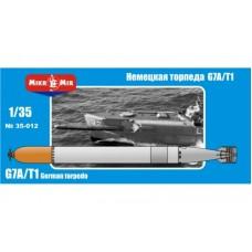 Немецкая торпеда G7A/T1
