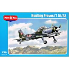 Учебно-тренировочный самолет Hunting Provost T.51/53 (вооруженная версия)