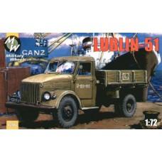 Lublin-51 Польская модификация грузовика ГАЗ-51