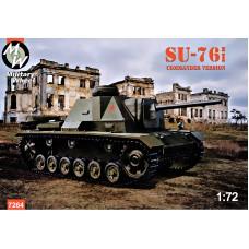 САУ СУ-76и, версия с командирской башней