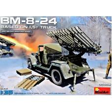 БМ-8-24 на основе грузовика 1,5 т