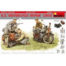 Американский мотоциклетный ремонтный экипаж