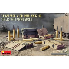 Снаряды для пушки 7,5 cm Pzgr. & Gr. Patr. Kw.K. 40
