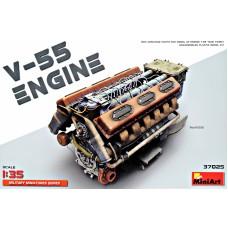 Двигатель V-55 для танка Т-55
