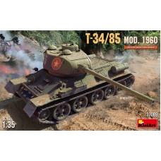 Танк Т-34-85 модификации 1960 года