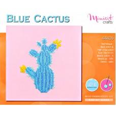 """Набор для вышивания """"Голубой Кактус"""""""