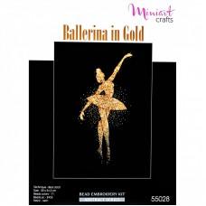 """Набор для вышивания """"Балерина в золоте"""""""