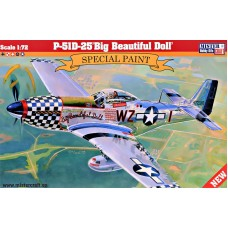 Истребитель P-51D-25 Big Beautiful Doll