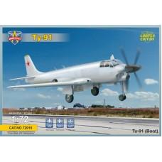 Морской бомбардировщик Туполев Ту-91
