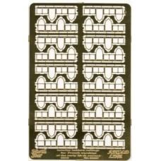 Интерьерные кнехты с перилами для французских военных кораблей, 20-го века